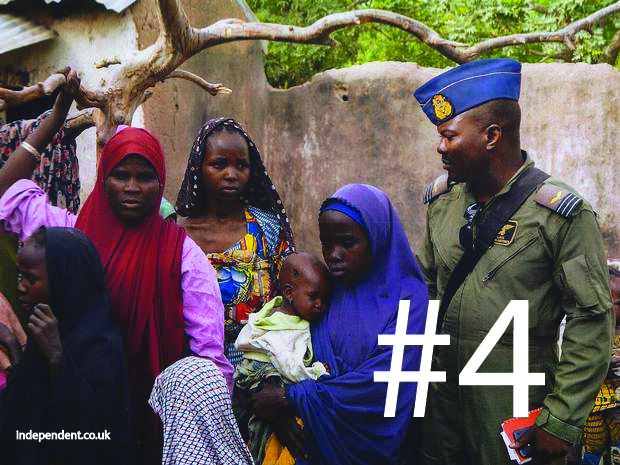 #4 – Boko Haram is raping women with goal of impregnating them