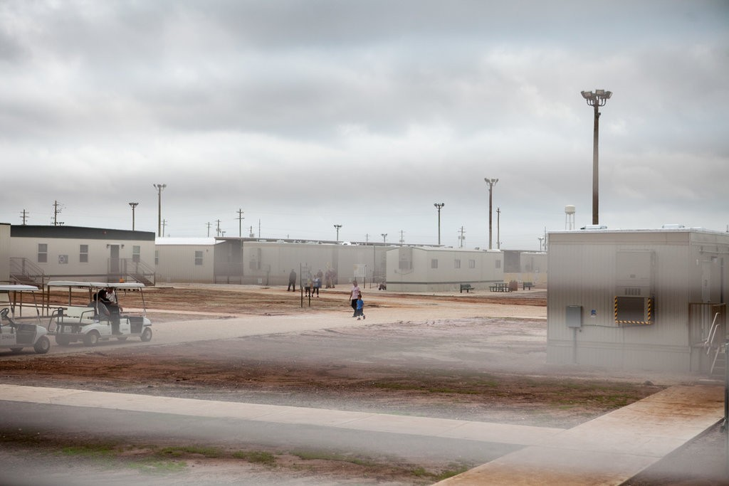 Ilana Panich-Linsman for The New York Times The South Texas Family Residential Center in Dilley, Tex., is the largest immigration detention center in the country. It houses thousands of women and children who were caught crossing the border illegally seeking asylum.