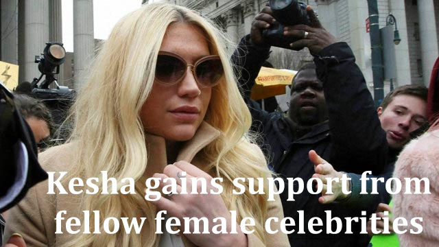 Fellow women artists, actresses give Kesha support during her trial