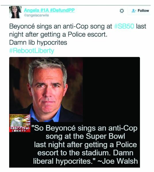tweet anti police
