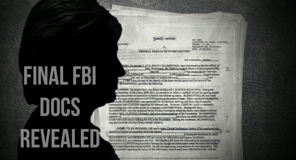 The Bombshell Found in the Final 250 Pages of Clintons Email